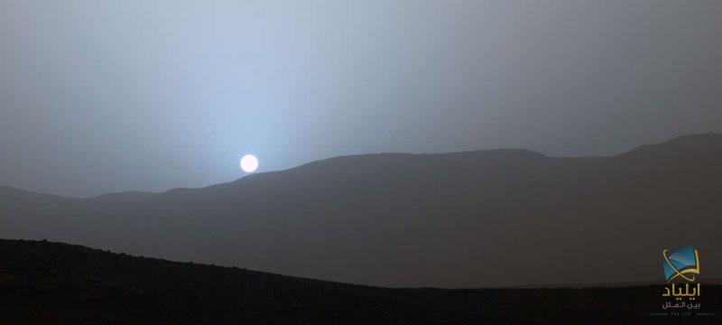 12652a - چرا غروب خورشید در مریخ آبیرنگ است؟