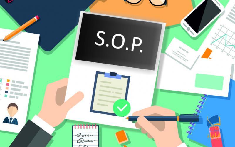 SOP در واقع متنی کوتاه و یک صفحهای به زبان انگلیسی یا به زبان مشخص شده توسط دانشگاه مورد نظر دربارهی سابقهی تحصیلی متقاضی و دستاوردها و اهداف وی است که در آن به بیان دلایل خود جهت انتخاب دانشگاه و رشتهی مورد نظر میپردازد.