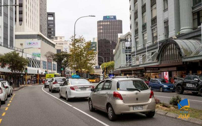 ولینگتون پایتخت نیوزیلند در ساحل جنوبی جزیرهی شمالی قرار دارد.